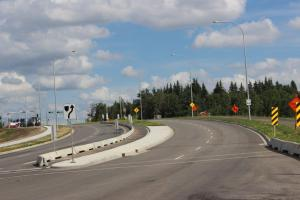 Leclair Way Crossing Complete - Direct access now to 137 Avenue