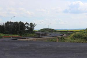Ray Gibbon Drive - North end - almost done!!