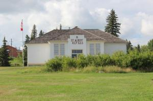 "St. Albert Heritage The ""little white schoolhouse"""